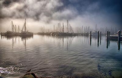Santa Barbara Marina, California