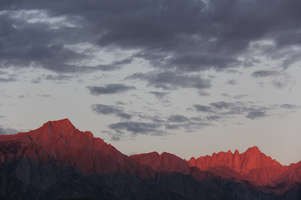 Sierras at Dawn 2, Lone Pine, California