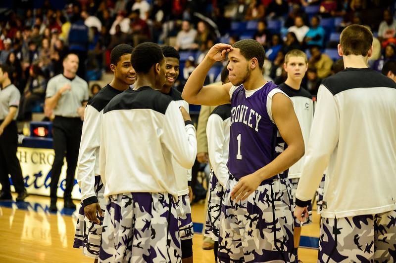 Basketball Varsity Boys vs  Crowley 12-11-13-16