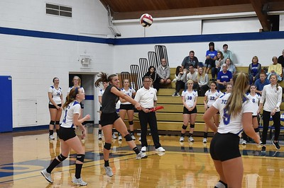 Bethel College Volleyball - 2017 vs Marian University
