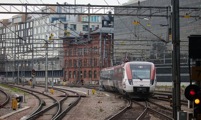 Tågkompaniet X52 9039 in Stockholm Central.