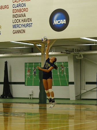 Clarion Univ. Volleyball