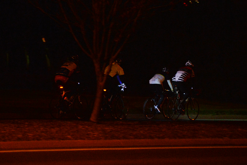 Night cycling around Renmark