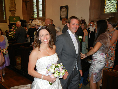 Penny & Mark's Wedding - Ruthin Castle 8th July 2011