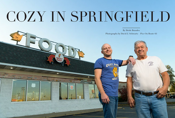 Cozy In Springfield - Cozy Dog Drive In