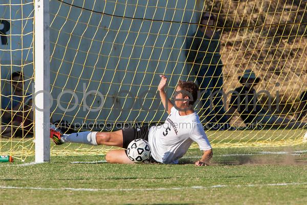 Oxy Men's Soccer vs Cal Tech 10-17-12