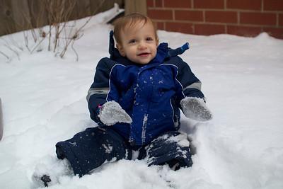Collin - 17 mos - Snow Day