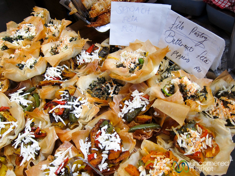 Hout Bay Weekend Market, Savory Pastries - Cape Town, South Africa