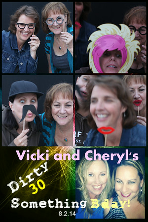 Cheryl and Vicky Dirty 30 Something