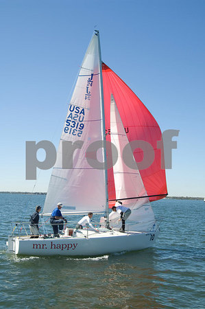 Pan Am Qualifiers for J24's Feb. '07, Bow #10, Sail #5319, Boat name-Mr. Happy