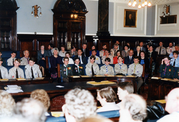 1992-05-09 County Queens Scout Presentations