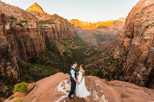 Asia & Eric | 2019.10.10 | Zion National Park, UT