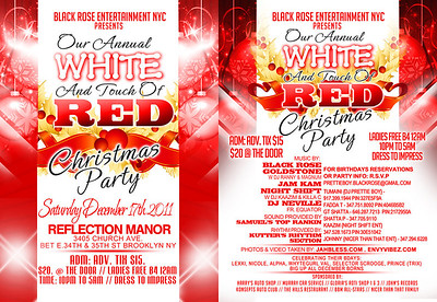 12/17/11 White With A Touch of Red