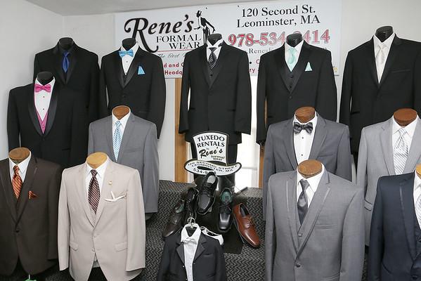 Rene's Formalwear fire