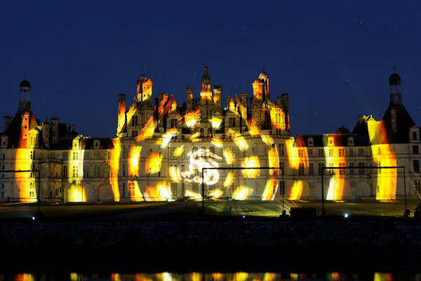 Chateau de Chambord - Illuminations 2008