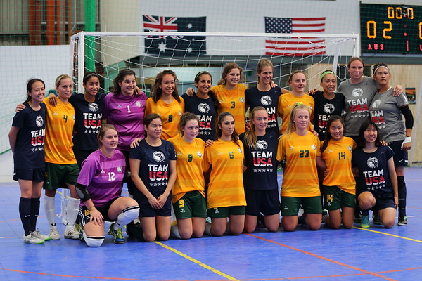 WOMEN Australia v USA (WIN)