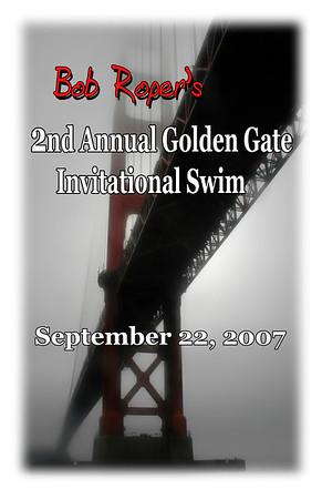 Bob Roper's 2nd Golden Gate Invitational Swim