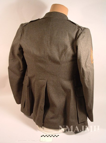 Jacob Joseph Mirsky's WWII USMC Uniform Service Jacket