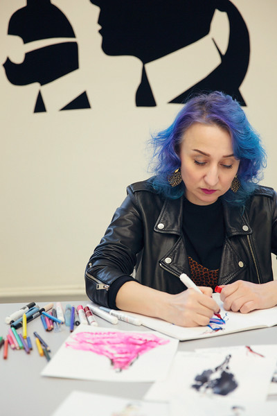 Illustrator Svetlana Filimonova. Saint Petersburg, 2019.