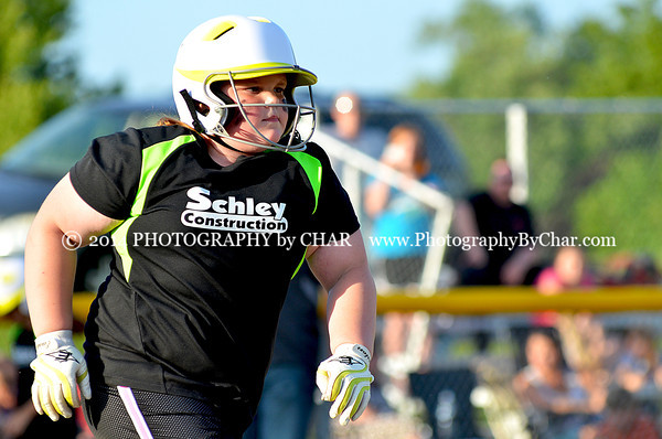 League 1 BUCS Softball Game 6-17-2014
