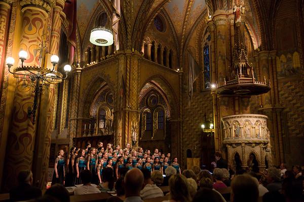 Day 9 - Travel to Budapest; concert at Mattias Church