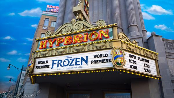 Disneyland Resort, Disney California Adventure, Frozen, Hyperion, Theater, Live, FastPass, Fast, Pass