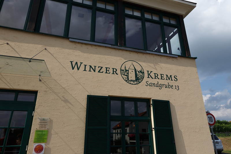 A wine tasting tour at Winzer Krems, a cooperative of 1,000 Austrian vintners.
