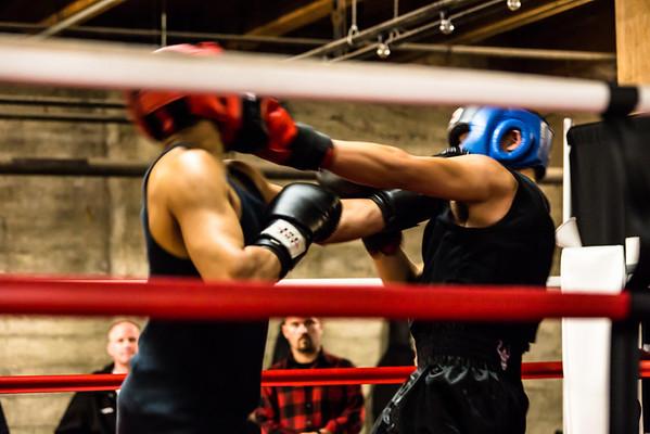 James boxing
