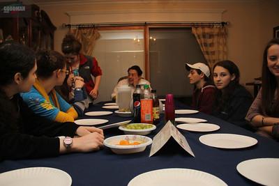 STL NCSY Tu'Bshevat Seder 2-8-2012