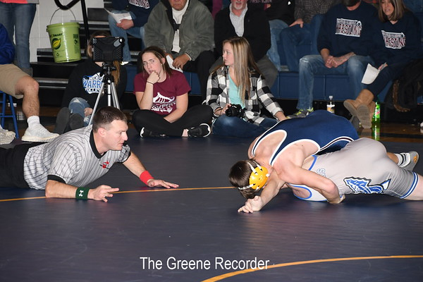 Wrestling vs Rockford and Riceville