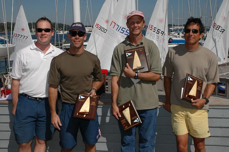 Luke Shingledecker (Event Chairman), 7 Keith Davids (1st Overall), 173196 Chris Legg SSA (2nd Overall), 168424 Bob Tan SSA (3rd Overall)