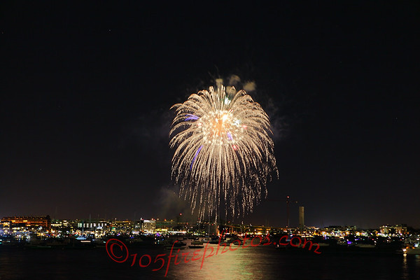 Battle of the Barges Firework 9/5