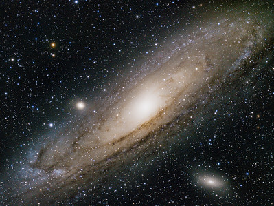 New Stellarvue SVQ100 captures the Andromeda galaxy (M31)