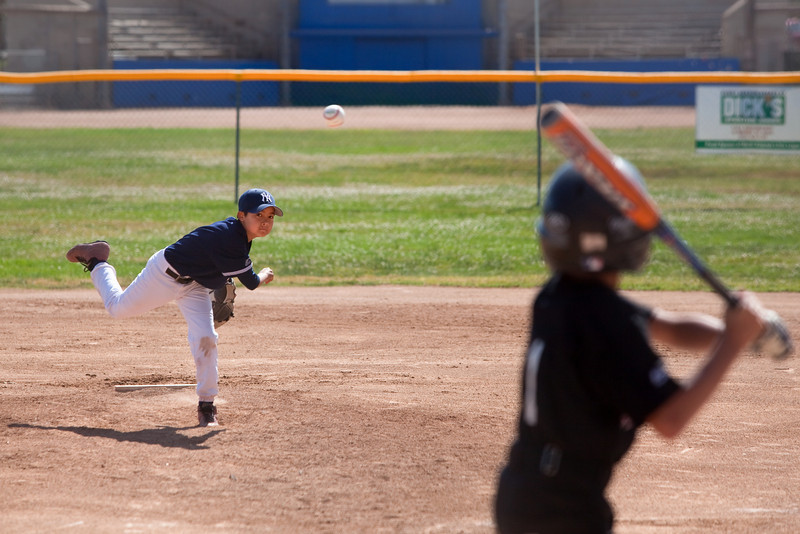 2009 04/25: JJ Plays Baseball & Hockey