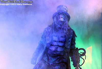Rob Zombie <br> October 21, 2012 <br>  Verizon Wireless Center - Manchester, NH <br> Photos by: Mary Ouellette