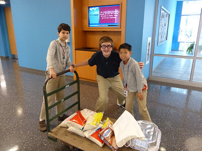 Middle School CSO: Thanksgiving Food Drive