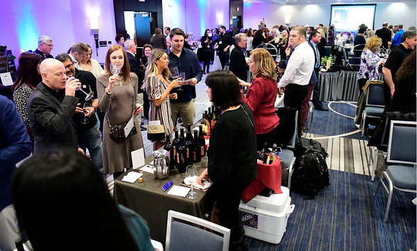 3/23/2019 Mike Orazzi | Staff The Bristol Hospital Development Foundation's annual Festival of Wine and Spirits held at the DoubleTree by Hilton Hotel in Bristol Saturday night.