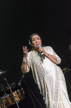 Asha Bhosle Concert 2015