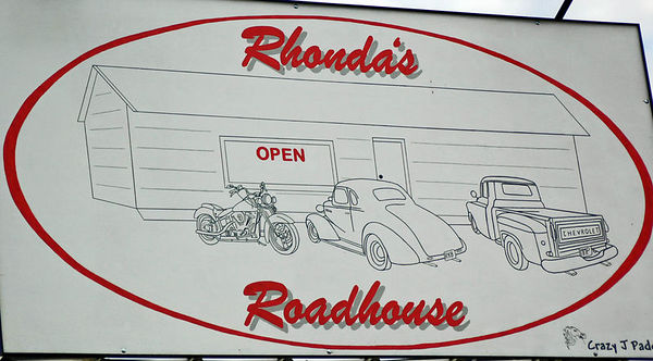 Grand Opening Rhonda's Roadhouse