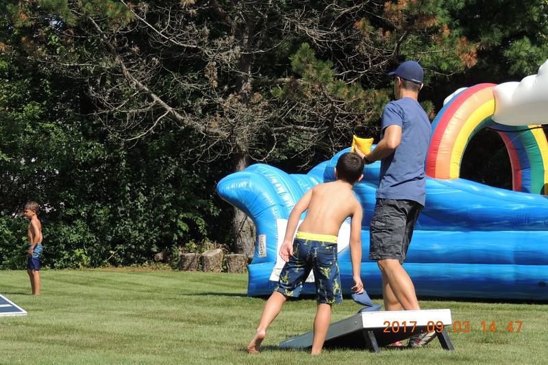 20170903 Labor Day Slide Party (at the new house)