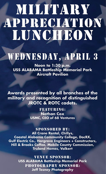 MILITARY APPRECIATION LUNCHEON 2019 - Mobile Chamber of Commerce
