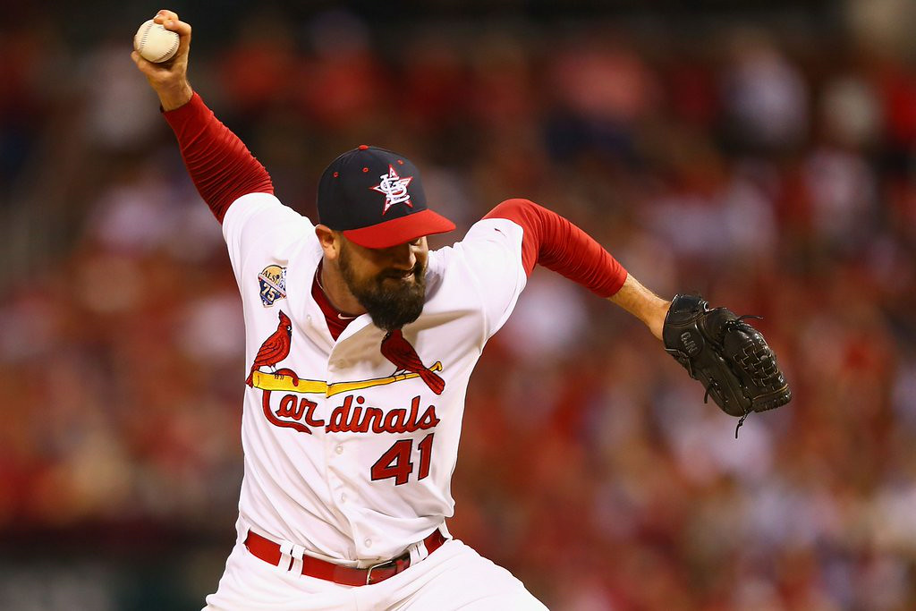 ". <p><b> Many Twins fans were shocked to learn Sunday that former reliever Pat Neshek was � </b> <p> A. Named to the National League all-star team <p> B. Taking over closer duties for St. Louis <p> C. Still pitching in the big leagues <p><b><a href=\'http://www.twincities.com/twins/ci_26100132/pat-neshek-park-center-grad-and-ex-twin\' target=""_blank\"">LINK</a></b> <p>    (Dilip Vishwanat/Getty Images)"