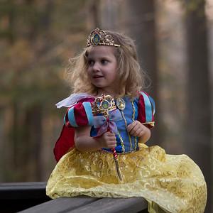 Olivia as Snow White