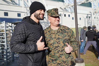 Roman Reigns - Visiting the Troops 2019 / Camp Lejeune