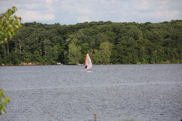 Sailboarding and Kayaking Hoover 6-25-11
