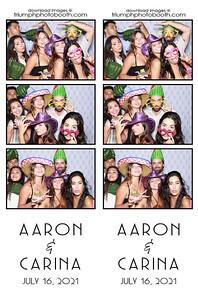 7/16/21 - Aaron & Carina Wedding