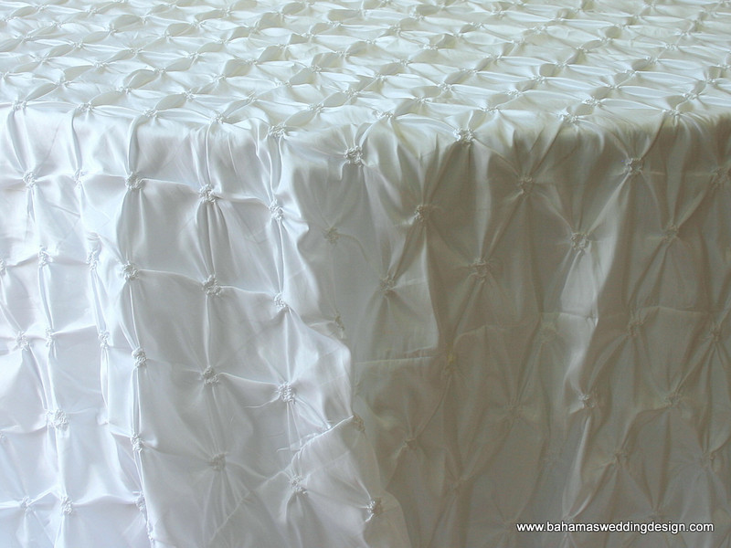Rosette Taffeta - White