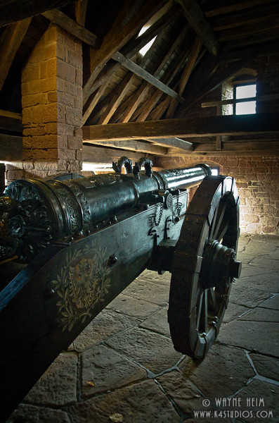 Cannon in the Castle    Photography by Wayne Heim