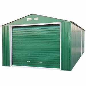 Imperial Metal Garage Green 12x26