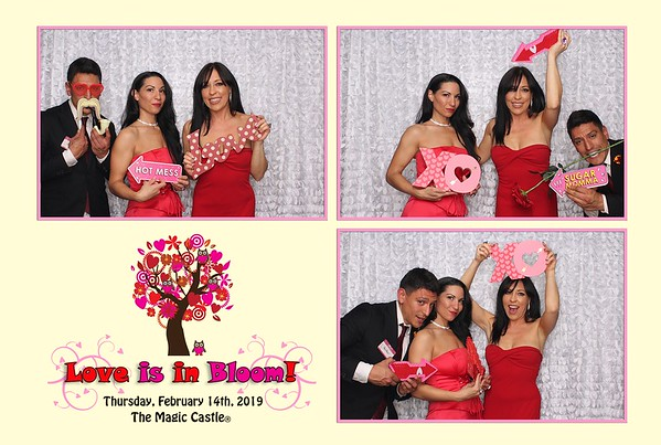 2019 Valentine's Day at The Magic Castle